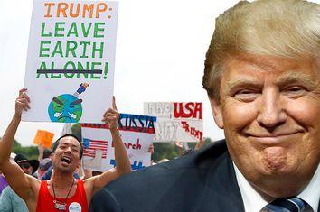 Donald Trump; Left; Anti-Trump