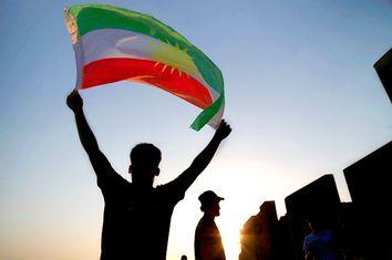 Iraqi Kurdistan; Kurdish Flag