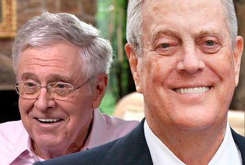 Charles Koch; David Koch