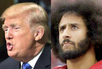 Donald Trump; Colin Kaepernick