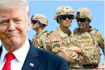 Donald Trump; US Soldiers
