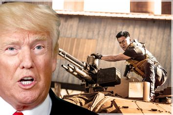 Donald Trump; Wolf Warriors II