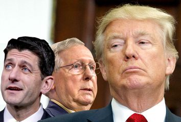Paul Ryan; Mitch McConnell; Donald Trump