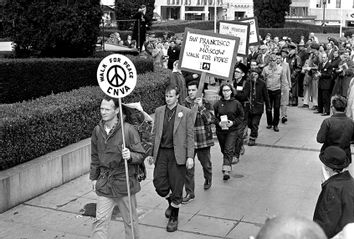 Anti Nuclear March For Peace