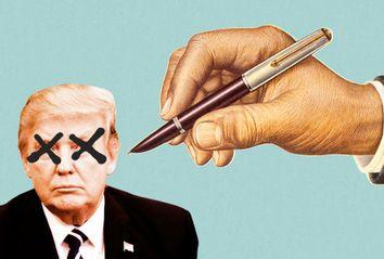 Donald Trump Drawing