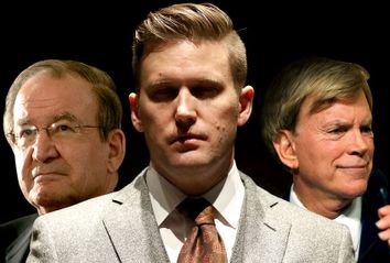Pat Buchanan; Richard Spencer; David Duke