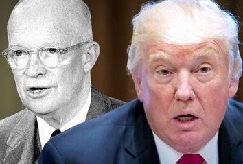 Dwight D. Eisenhower; Donald Trump