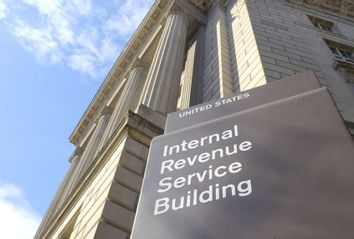 Internal Revenue Service (IRS) building in Washington