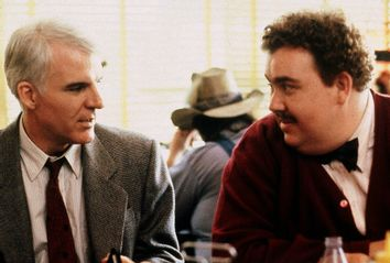 "Steve Martin and John Candy in ""Planes, Trains & Automobiles"""