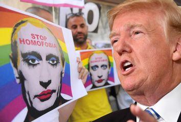Russian Anti Gay Laws; Donald Trump