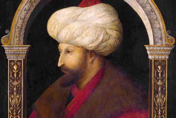 Sultan Mehmed II by Gentile Bellini