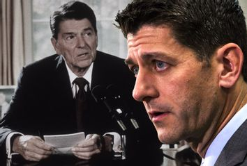 Paul Ryan and Ronald Reagan