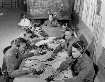 WWII U.S. ARMY TUSKEGEE TRAINING