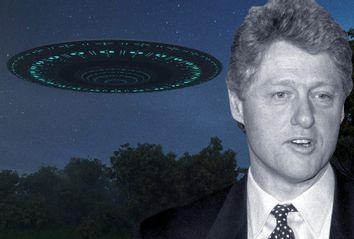 Bill Clinton; UFO