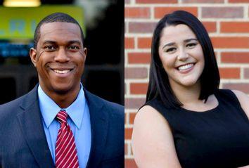 Brandon Johnson; Angela Becker