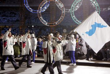 North Korea South Korea Olympics