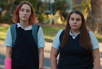Saoirse Ronan and Beanie Feldstein in