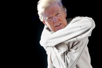 Donald Trump; Straitjacket