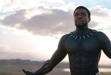 Chadwick Boseman as T'Challa / Black Panther in
