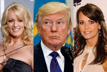 Stormy Daniels; Donald Trump; Karen McDougal