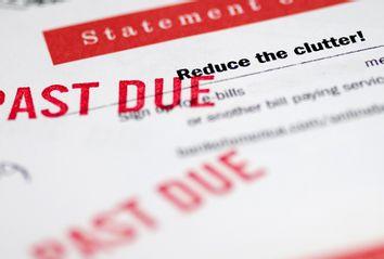 Past due bills