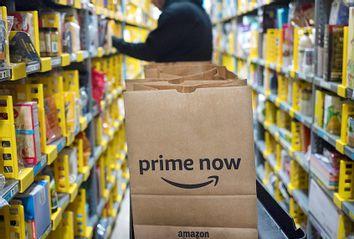 Amazon Prime warehouse