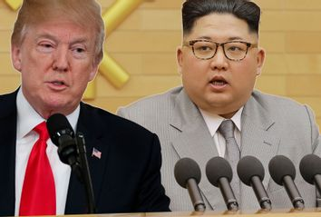 Donald Trump; Kim Jong-Un