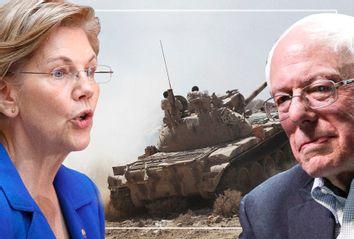 Elizabeth Warren; Bernie Sanders; Yemen War