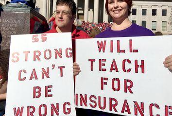 West Virginia Teachers Walkout