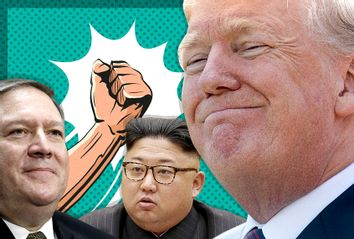 Mike Pompeo; Kim Jong-un; Donald Trump