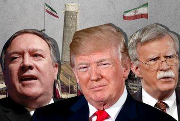 Mike Pompeo; Donald Trump; John Bolton