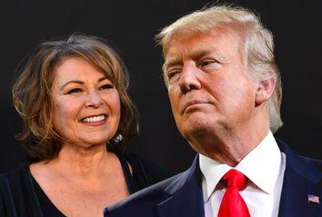 Roseanne Barr; Donald Trump