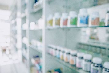 Shelves of Vitamins
