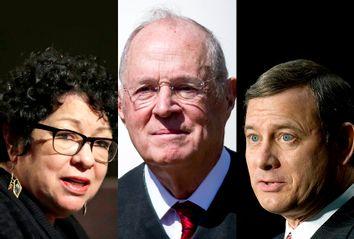 Sonia Sotomayor; Anthony Kennedy; John Roberts