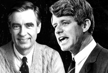 Fred Rogers; Robert Kennedy