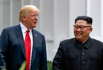 Donald Trump; Kim Jong Un
