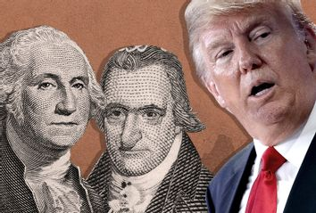 George Washington; Thomas Paine; Donald Trump
