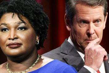 Stacey Abrams; Brian Kemp