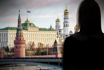 Kremlin; Woman's Shadow