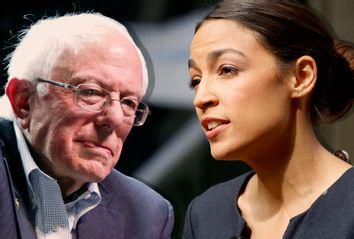 Bernie Sanders; Alexandria Ocasio-Cortez