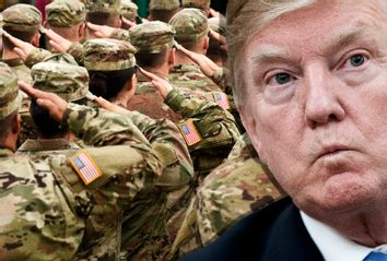 Donald Trump; US Military