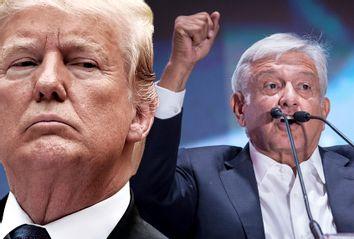 Donald Trump; Andrés Manuel López Obrador