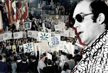 Hunter S. Thompson; 1968 Democratic National Convention