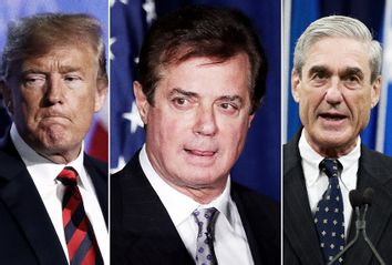 Donald Trump; Paul Manafort; Robert Mueller