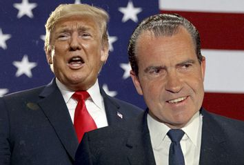 Donald Trump; Richard Nixon