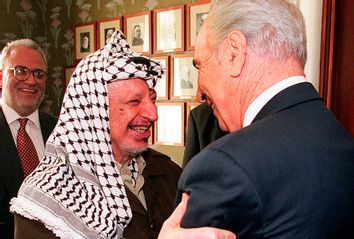 Arafat; Peres