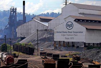 United States Steel's Edgar Thomson works