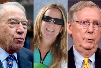 Chuck Grassley; Christine Blasey Ford; Mitch McConnell
