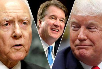 Orrin Hatch; Brett Kavanaugh; Donald Trump