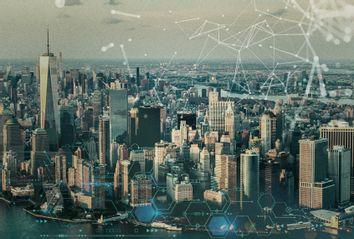 NYC Skyline; Technology